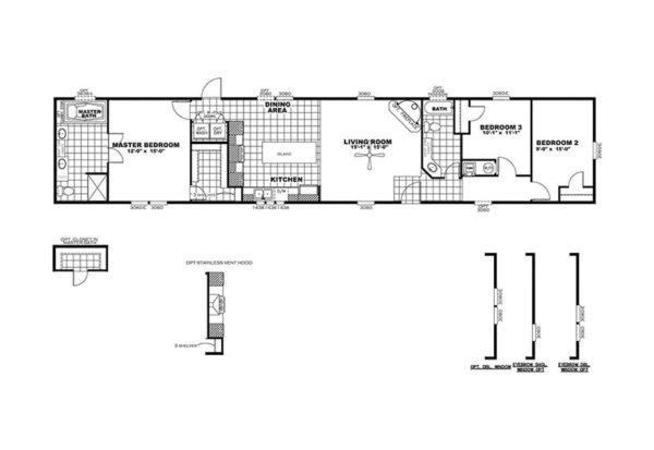 SMART BUY 16803C - Floor Plan