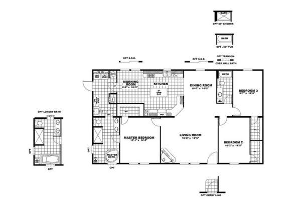 Good Life - Mobile Home - Floor Plan