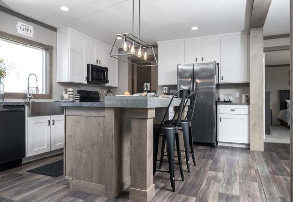 Clayton Amelia - Mobile Home - Kitchen Island