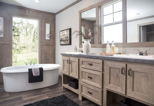 Clayton Amelia - Mobile Home - Master Bathroom