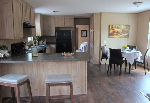 MAX - Mobile Home - Kitchen And Dining Area