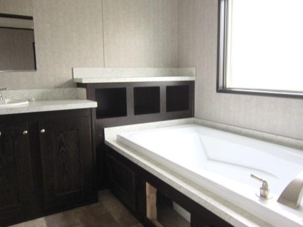 Used Clayton Single wide mobile home - bathroom