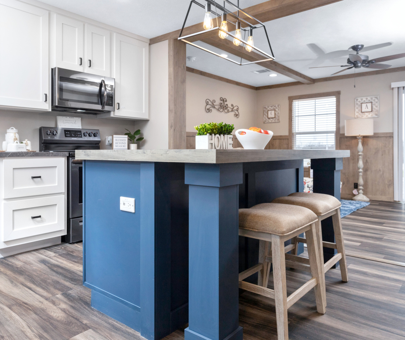 mobile home kitchen island